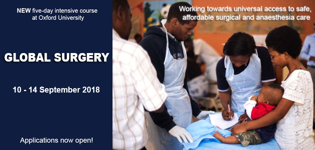 Global Surgery course