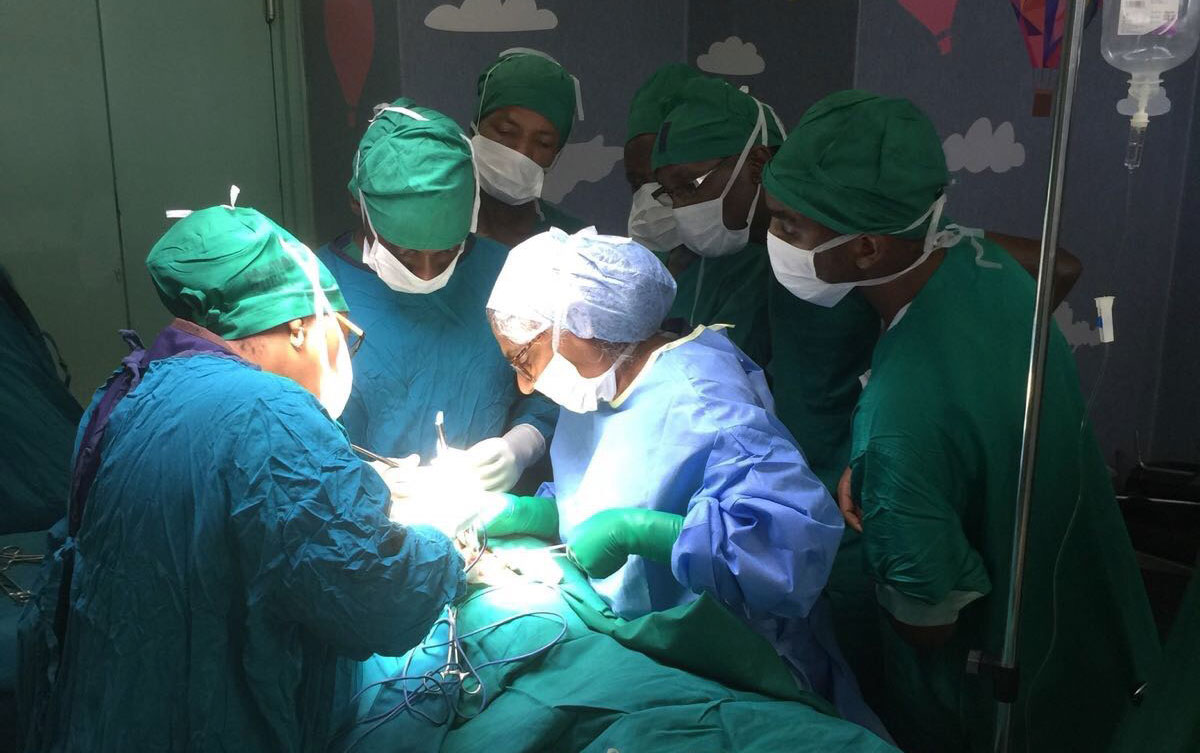 Tanzania-Oxford Paediatric Surgery