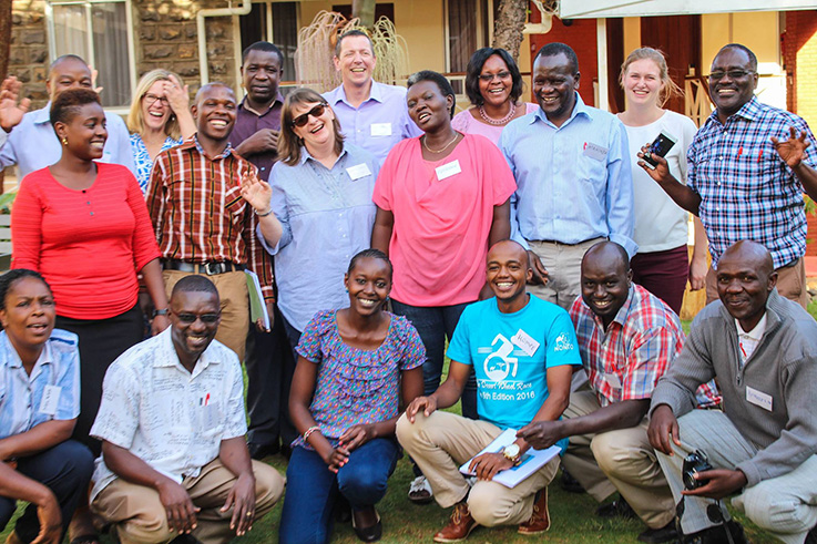ACT clubfoot training course in Kenya, January 2017, in partnership with CURE Clubfoot Kenya. Images reproduced courtesy of CURE Clubfoot