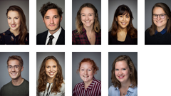 A montage of the student committee